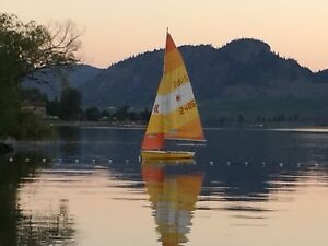 Laser II Sailboat with Trailer For Sale