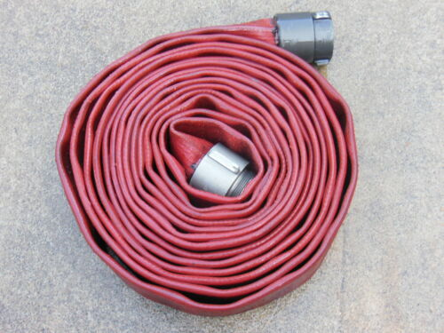 """Angus Redchief FIRE HOSE 3"""" x 50 ft. with NH Aluminum Couplings"""