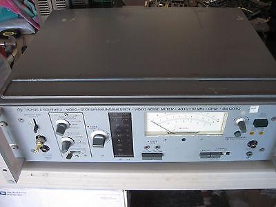 100 Warranty Rohde Schwarz Bn120312 Bn 120312 Upsf Noise Meter Working