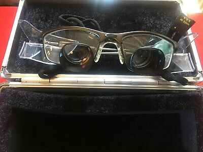 Orascoptic Dental Loupes 2.5x Magnification With Hard Case Quick Free Shipping