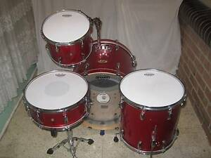 5 pce Pearl Vision VMX Maple Drum Kit (Shell Pack) -As New- Coburg Moreland Area Preview