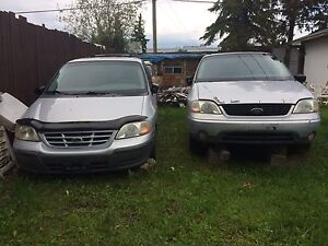1999 Ford Windstar with Parts Van