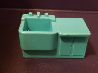 Vintage Fisher Price Little People Children's Hospital SINK (RARE) 931