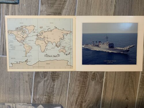 US Navy Ship - Poster Fold Out - USS Bristol County LST 1198