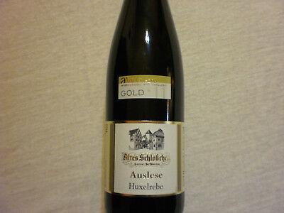 Auslese Huxelrebe vom Weingut Altes Schlößchen Weißwein Wein süß Prämiert