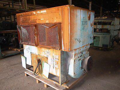 1000 Hp U.s. Electric Motor 900 Rpm 6811ms Frame Wpii 4000 V