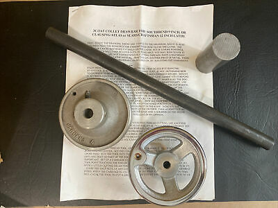 3c3at Collet Drawbar Kit For Southbend 9 Inch Lathe