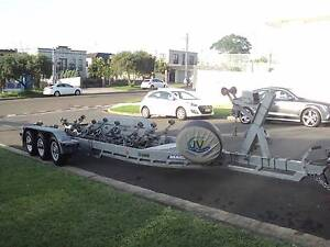 Mackay Tri Axle Boat Trailer Suit Boats To 35 Foot 4500GVM Lugarno Hurstville Area Preview