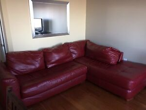 Faux leather Comfy Oversized Couch