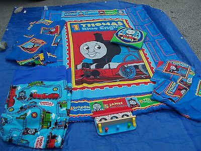thomas the tank engine train and friends kids bedding set boy bedroom decor twin