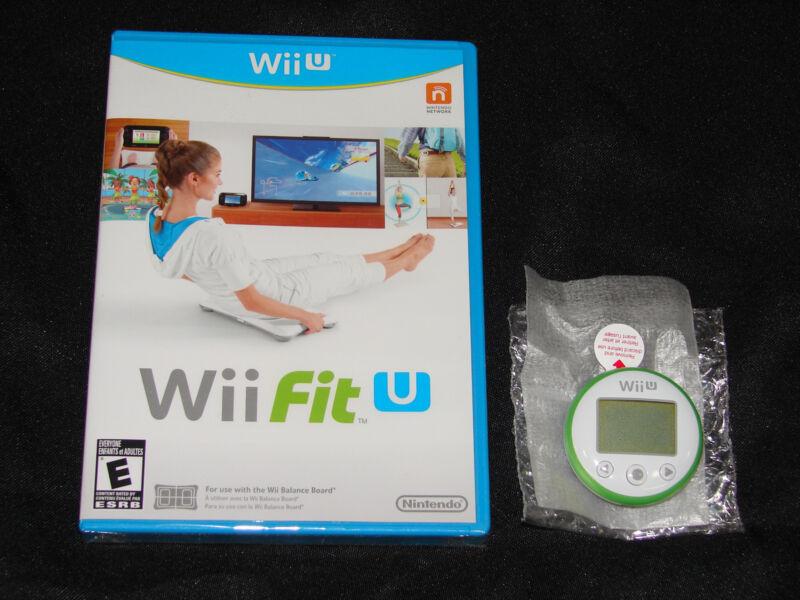 Wii Fit U + Fit Meter  (nintendo Wii U, 2014)  ***new Factory Sealed***