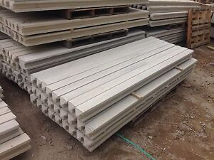 8ft INTERMEDIATE CONCRETE FENCE POSTS (STEEL REINFORCED)