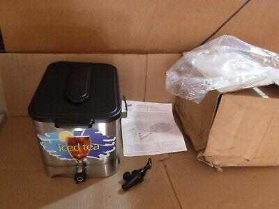 Wilbur Curtis Ice Tea Dispenser Tc0308a000 3 Gallon