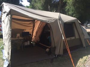 Black Wolf Turbo Plus 240 canvas, side & front panels, Ground sheet