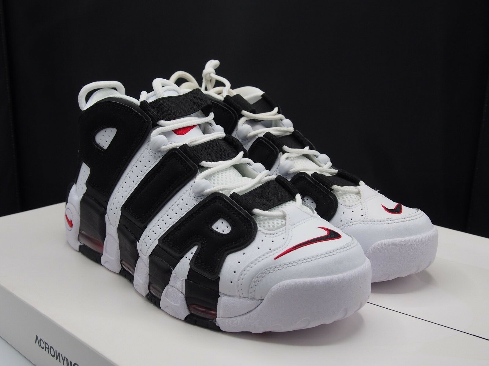 Nike Air More Uptempo Bulls Red Pippen