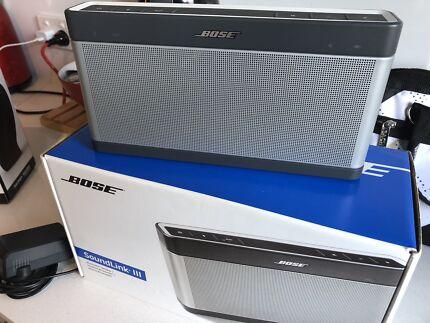 Bose Soundlink 3 speaker