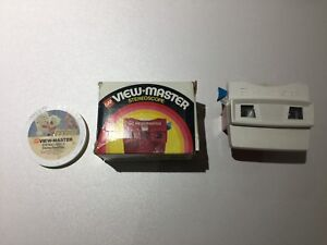 Vintage VTG ViewMaster with box and Disney Reels