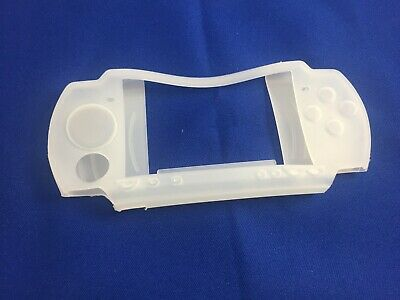Clear Silicon Silicone Soft Case Skin Cover Pouch Sleeve for PSP 2000 PSP 2001, used for sale  Shipping to Nigeria