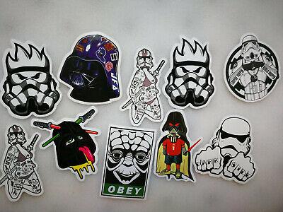 10 x STAR WARS vinyl grafitti bomb Stickers Random Car Laptop Skate #2