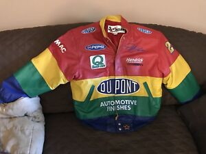 Jeff Gordon NASCAR Leather Jacket