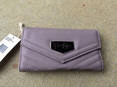 Jessica Simpson French Lilac Jenita Tri Fold Wallet 10th Anniversary Edition (French Tri Fold)