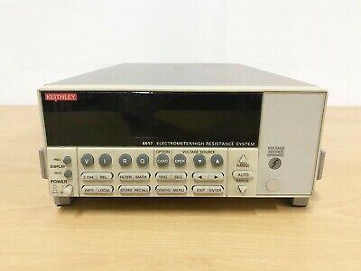Keithley 6517 Electrometer High Resistance Meter
