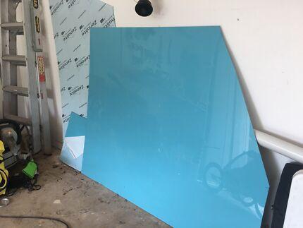 Zenolite Splashback material- blue