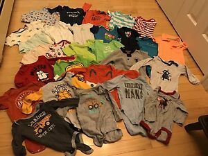 Baby boy clothes 6-12 months (62 items)