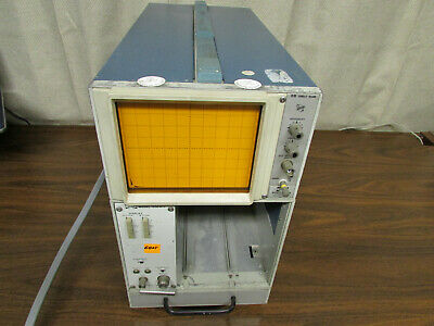 Tektronix Pacific Measurements Pm 1038 Display Mainframe Powers Up Good Crt