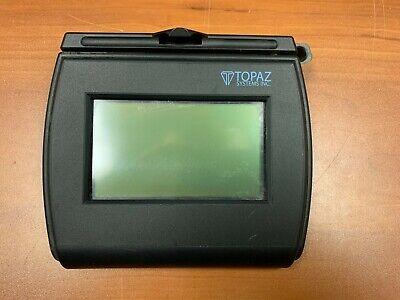 Topaz Siglite T-lbk750-bhsb-r 4x3 Serialusb Signature Capture Pad