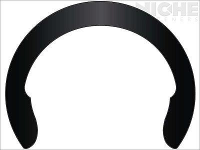 Crescent External Retaining Ring Clip 7/16 CS Phos  (500 Pieces)