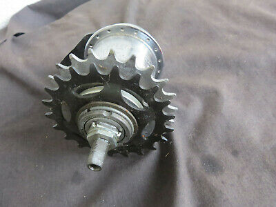 Par Sturmey Archer 3//8 Cúpula Tuercas de Eje Para Hub Engranaje Bicicleta Bici
