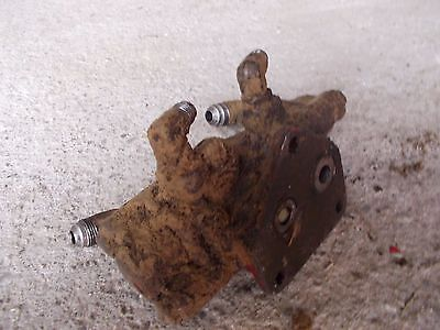 Farmall International 706 Ih Tractor Power Steering Valve Port Block Assembly
