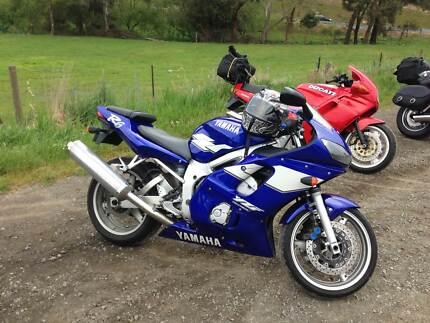 Yamaha R6  sweet machine, lady owner