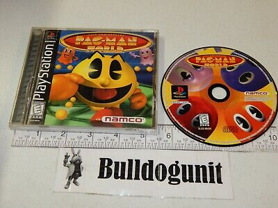 Pac-man World PS1 Complete Black Label PS1 Game Playstation 1 Namco Pacman    comprar usado  Enviando para Brazil
