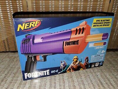 New! NERF Fortnite HC-E Mega Dart Blaster Gun - FACTORY SEALED, NIB!