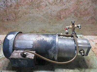 Haldex Oil Motor Pump Tefc T17pk39c 1802591 Vescor C145t17fk39 Takisawa Cnc Lath