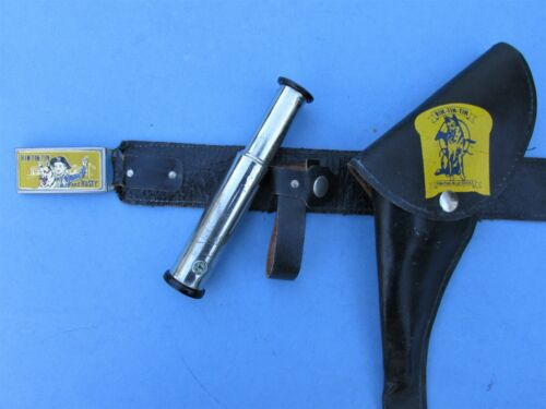 TELESCOPE WITH COMPASS ONLY FOR RIN TIN TIN  AND RUSTY CAP GUN HOLSTER SET