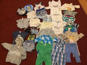 Baby 000 clothes bundle Reid North Canberra Preview