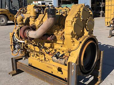 C32 Cat Engine Tier 3 6600 Hrs Since Major Rebuild Good Running Takeout O...