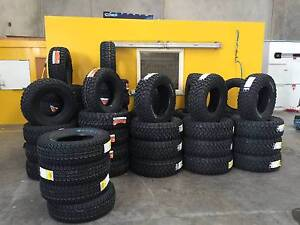 Brand New Tyres, Second Hand Tyres. All sizes COVERED Sunshine Brimbank Area Preview