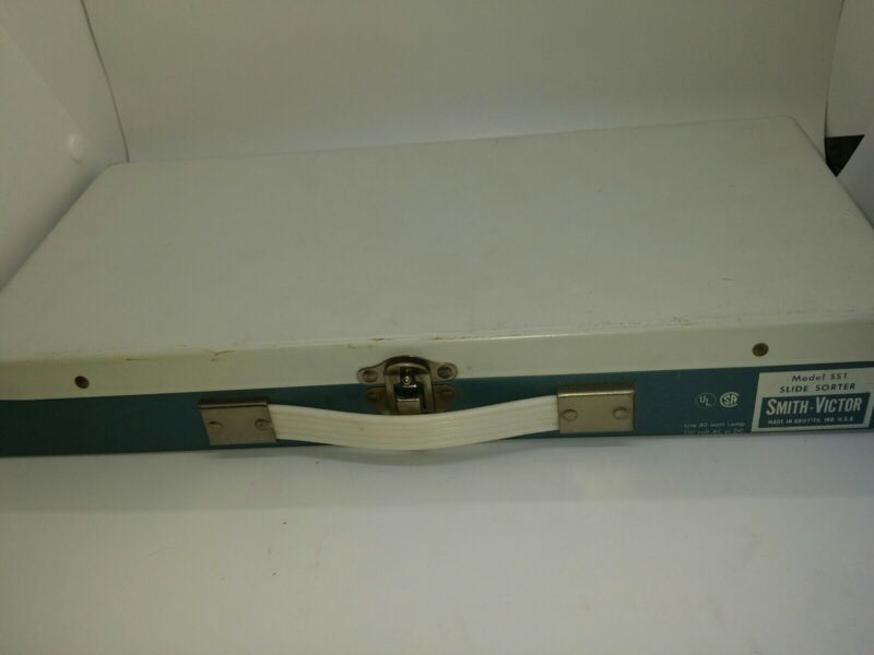 Vintage SMITH VICTOR SS1 Slide Sorter WORKS Metal Case Made in USA