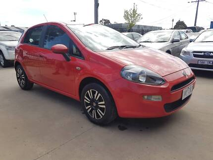 2013 Fiat Punto Hatchback AUTO LOW KMS Williamstown North Hobsons Bay Area Preview