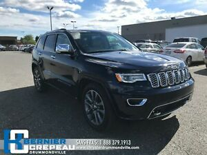 2018 Jeep Grand Cherokee Overland **SUSP. A AIR, TOIT PANO, GPS