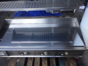 Flat top Keating gas griddle