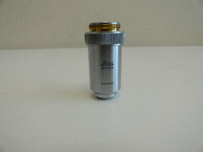A8 Leitz Microscope Objective 1700.17 Germany 400.65