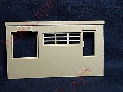 Plasticville Factory Tan Side Piece HTF Scale