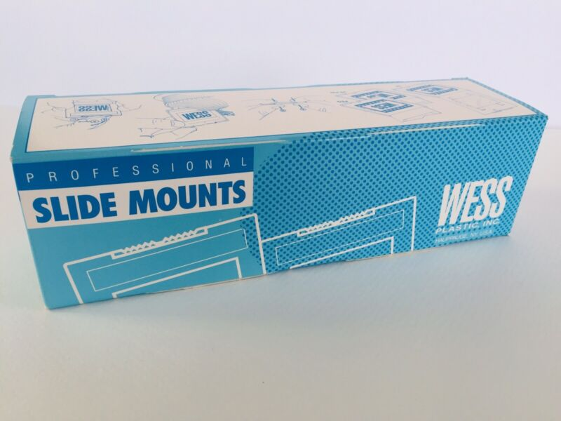 2X2 PROFES. SLIDE MOUNTS  AHX500K..50 IN BOX, never used WRAPPED, Wide Format