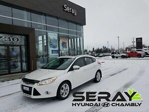 2012 Ford Focus SEL, CUIR, MAGS, toit ouvrant, banc chauffant