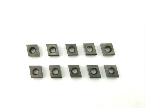 Qty 10 Ingersoll 80 deg. 9CN83 Ceramic Turning/Milling Inserts